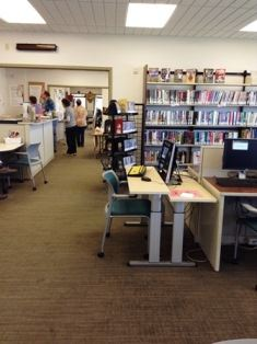 Community Library at MSU-B City College