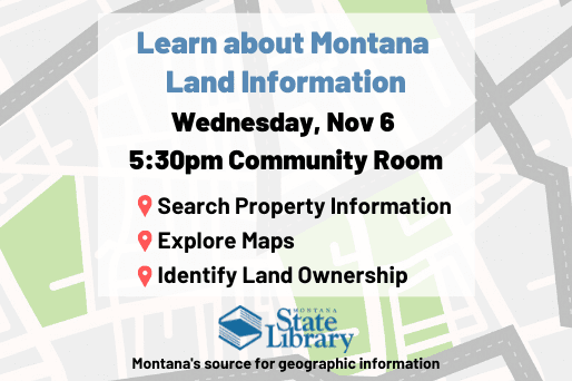 Learn about Montana Land Information Nov 6