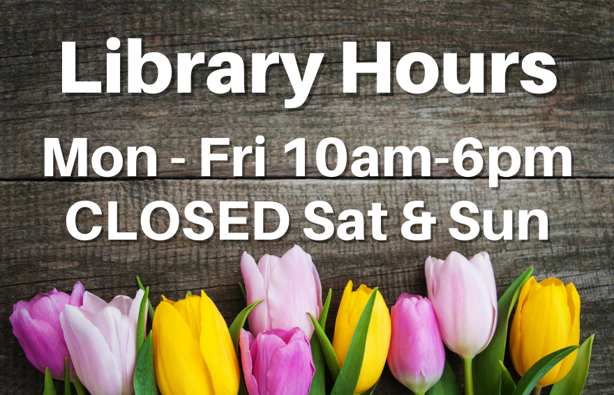Spring library hours
