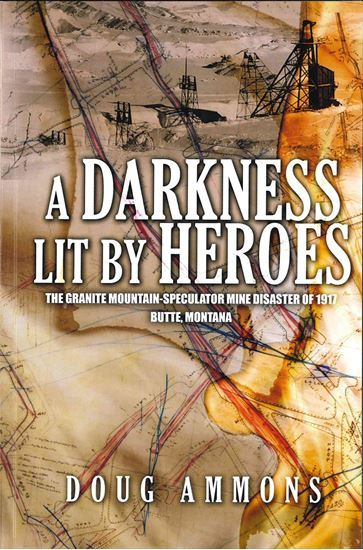 A Darkness Lit by Heroes by Aaron Parrett