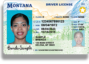 montana driver's license sample Opens in new window