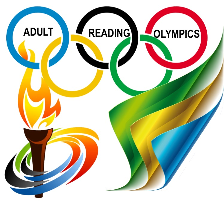 Adult Reading Olympics 2020 Banner Opens in new window